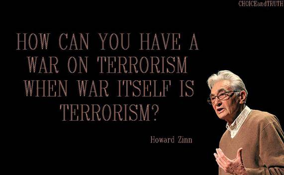 The war on terror should be stopped for the benefit of humanity